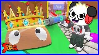 GIANT BOSS BLOB! Roblox blob Simulator vamos jogar com Combo Panda
