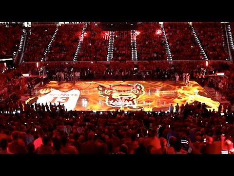 NC State basketball unveils new pregame introductions