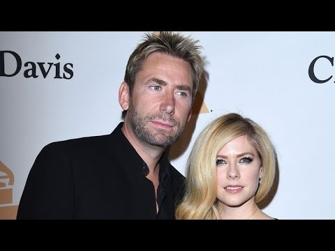 Avril Lavigne and Ex Chad Kroeger Look Oddly Coupled Up at Clive Davis' Pre-GRAMMYs Party