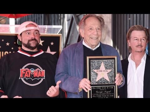 George Segal - Hollywood Walk of Fame Ceremony