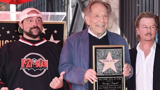 George Segal - Hollywood Walk of Fame Ceremony