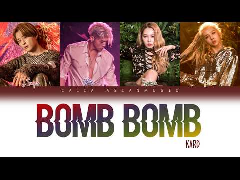 KARD - BOMB BOMB (밤밤) - Color Coded (Han/Rom/French) Lyrics