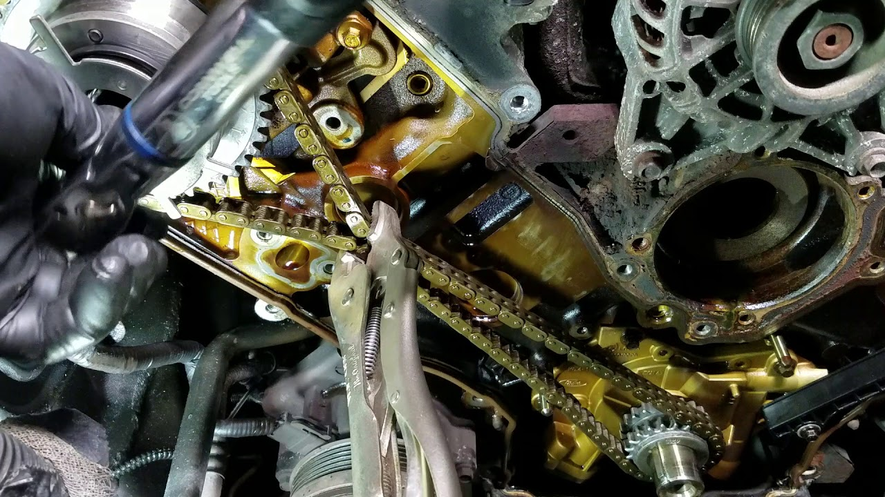Ford 3 Valve Cam Phaser Replacement With No Special Tools