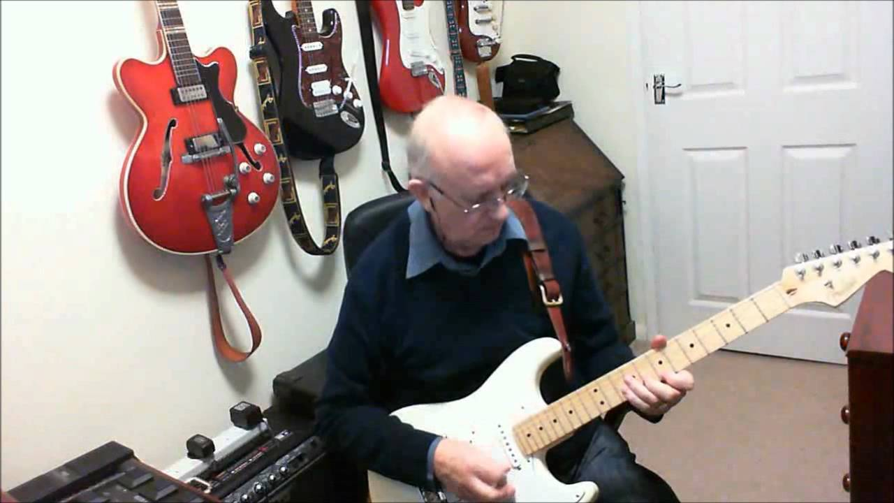Tonight The Shadows Cover By Old Guitar Monkey Youtube