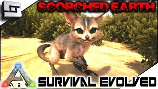 ARK: Scorched Earth - TAMING A JERBOA! Part 1 ( Scorched Earth Map Gameplay )