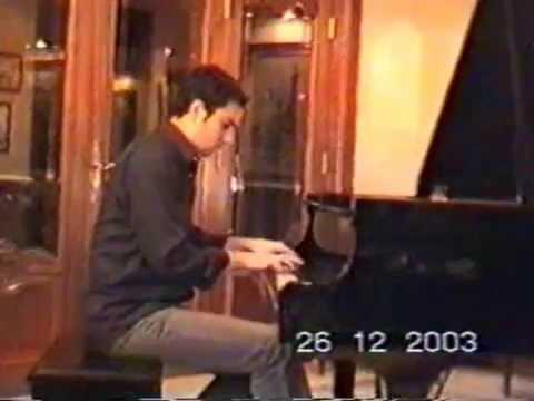 Rhapsody Espagnole Franz Liszt Played By Hatem AlRais 2003