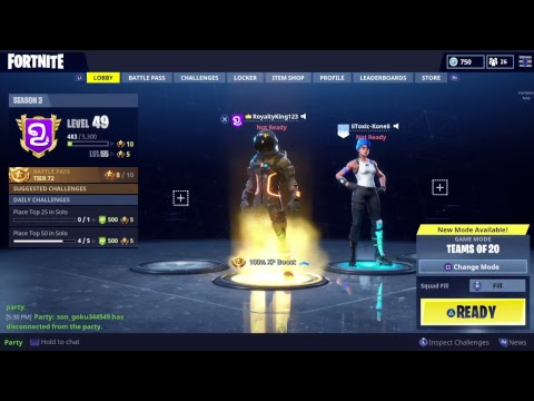 Royalty Plays Fortnite | Squads