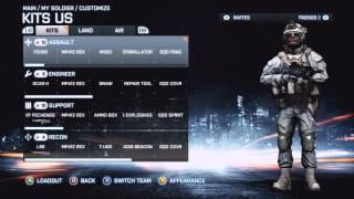 Battlefield 3: Premium Info Commentary - Soldier & Gun Camo, Dogtags & Knife