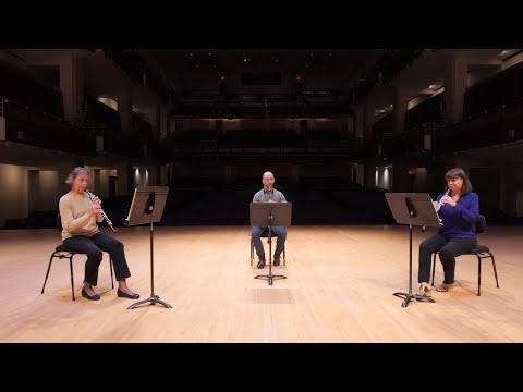 Meet the Oboe and English Horn with Melanie Wilsden, Sandy Posch, and Joseph Peters