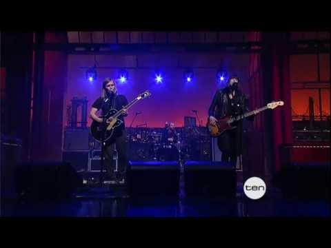 BAND OF SKULLS  - Sweet Sour on Letterman 2012