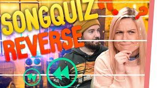 Songquiz REVERSE! | Könnt IHR Songs RÜCKWÄRTS erraten??