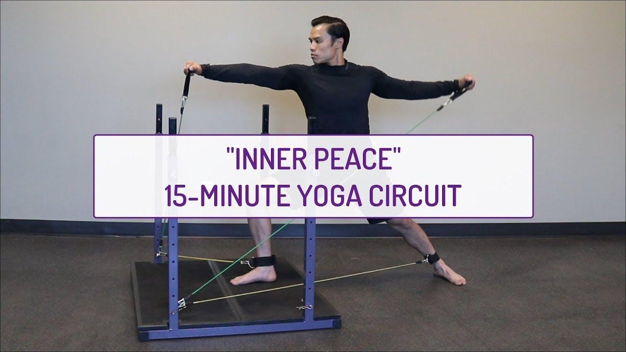 Inner Peace | 15-Minute Yoga Circuit | Evolution Training System
