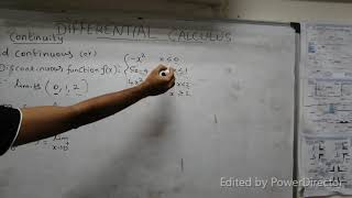 how to find continuous or discontinuous function for differential calculus in tamil problem 2