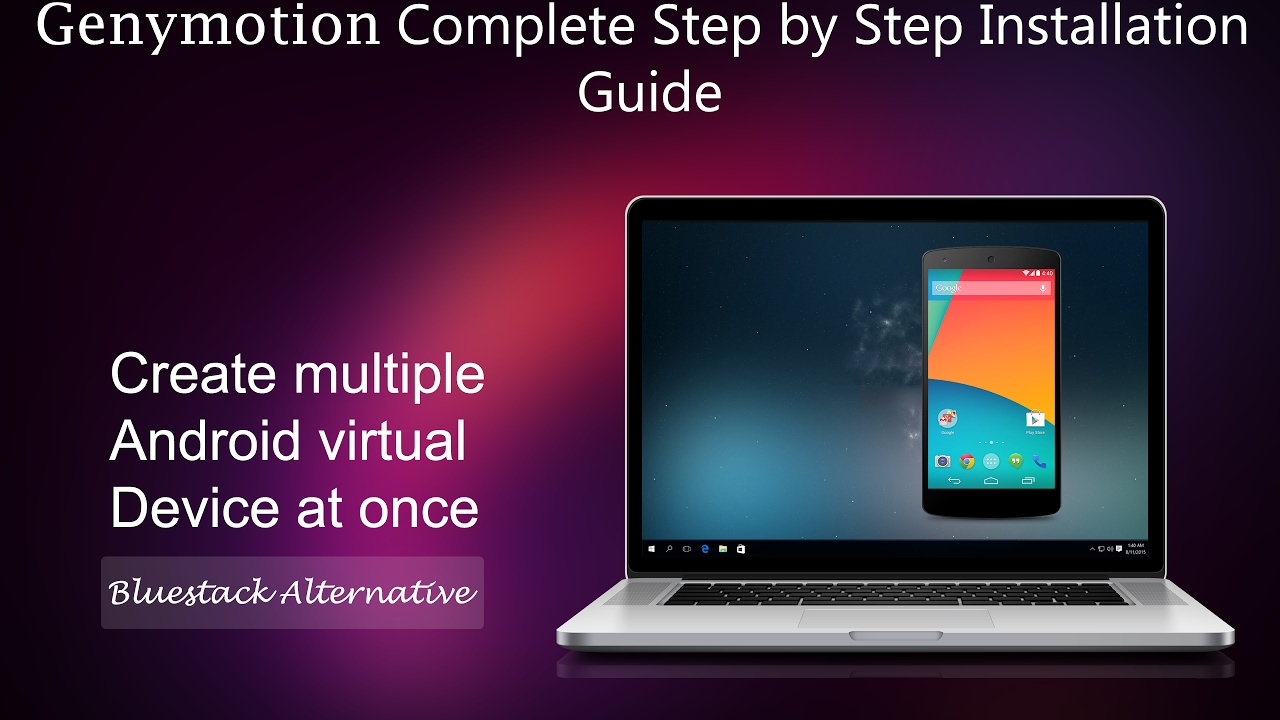 run android app on pc genymotion complete step by step rh youtube com gta san andreas android installation guide sygic android installation guide