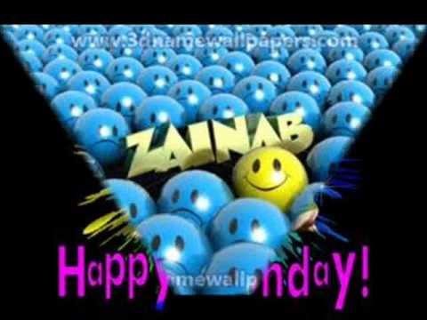 Happy Birthday To You Zainab Youtube