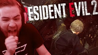 TERRIFYING BOSS BATTLES (RESIDENT EVIL 2 REMAKE PART 5)