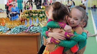 First competition Первое Выступление Художественная гимнастика Дети  rhythmic gymnastics rg