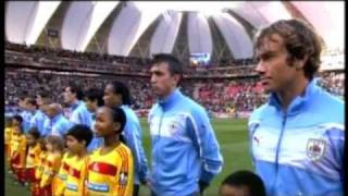 Hino do Uruguai na Copa do Mundo 2010