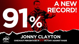 BEST EVER FINISHING?! | Jonny Clayton with 91% checkout success rate at the 2021 Ladbrokes Masters!