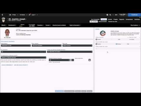 Tuto FM- Transferts - Vente et achat de joueurs