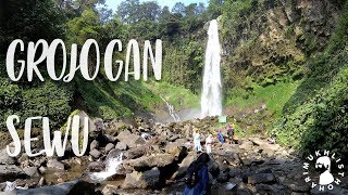 #INDONESIA GROJOGAN SEWU (AIR TERJUN) -TAWANGMANGU, KARANGANYAR APRIL 2018