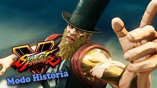 G - O Surpreendente Personagem Novo de Street Fighter V