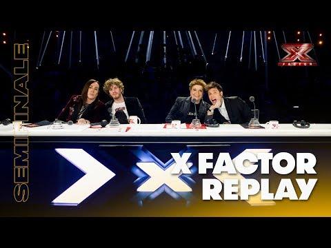 X Factor 2018 replay: Semifinale