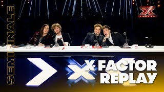 X Factor 2018 replay: Semifinale