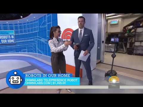 OhmniLabs Featured on the Today Show