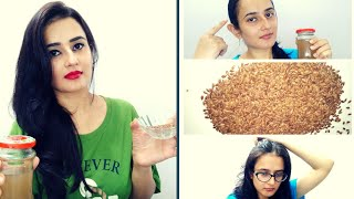 FLAX SEEDS (Alsi)   Benefits For Hair Get Long, Strong & Shiny Hair  Flax Seeds Gel   SWATI BHAMBRA