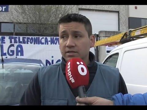 Recopilación de entrevistas - Huelga indefinida de los instaladores de Movistar 2015