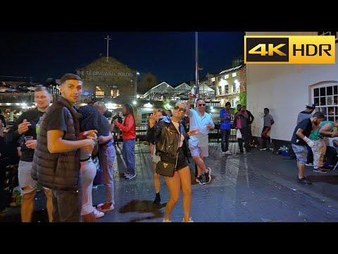 😈Camden town after dark😈London Walk around Midnight-June 2021[4k HDR]