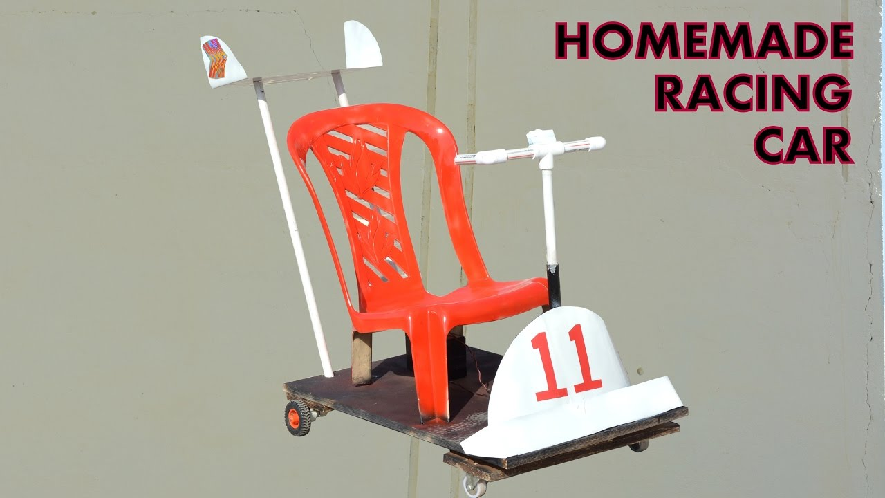how to make racing car for kids at home
