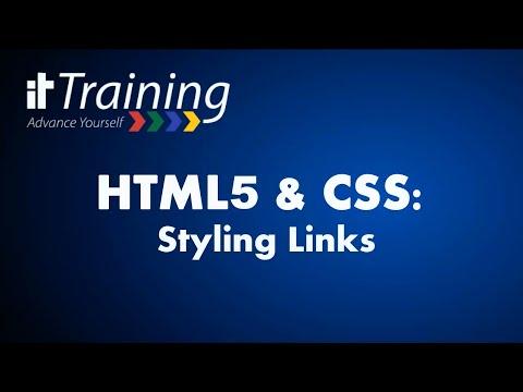 HTML & CSS: Styling Hyperlinks