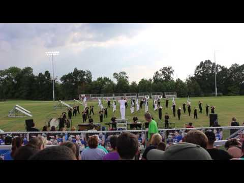 Larue County High School Marching Band 8/27/16