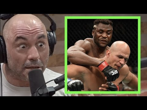 Joe Rogan on Francis Ngannou KO'ing Junior Dos Santos