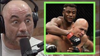 Joe Rogan on Francis Ngannou KO'ing Junior Dos Santos