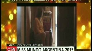 C5N - MISS MUNDO ARGENTINA 2015 DESDE EL CITY CENTER DE ROSARIO