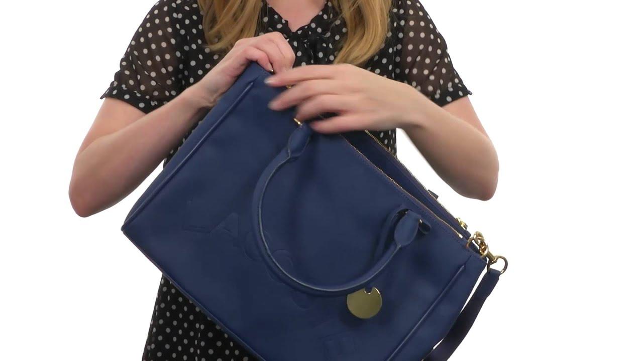 b610bc4faa Lacoste - Daily Classic Medium Double Zip Shopper SKU:8344717 - YouTube