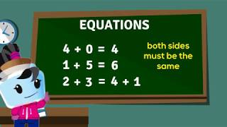 Understanding the Equal Sign + Addition and Subtraction Equations - 1st Grade (1.OA.7)