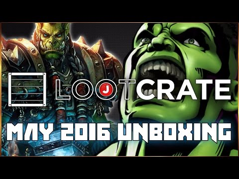 Loot Crate May 2016 Unboxing with Jezy