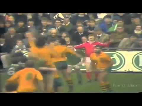 Wallaby Legend David Campese career highlights part 1