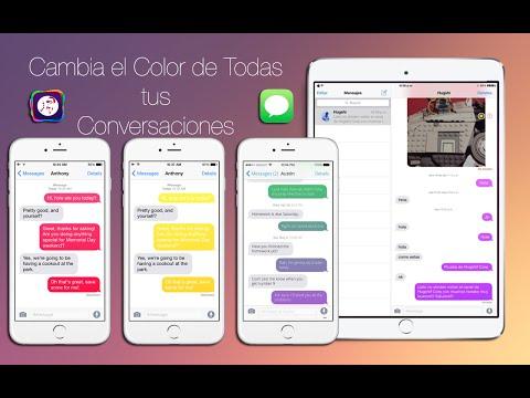 Como Cambiar El Color De Tus Conversaciones En La Aplicacion De Mensajes En Tu IPhone & IPad