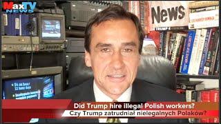 Polska Brygada D. Trumpa - D. Trump Polish Brigade - Max Kolonko Mówi Jak Jest