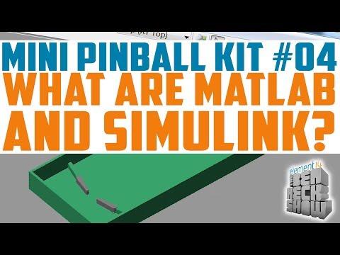 Mini Pinball 04: Pinball Simulation with MATLAB and Simulink