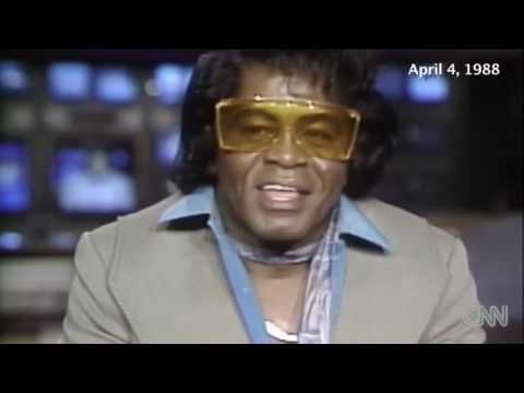 LMFAO... James Brown was high as a kite during this interview!
