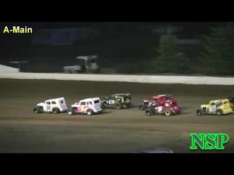 July 30, 2016 PHRA Dwarf Car Nationals A-Main Grays Harbor Raceway