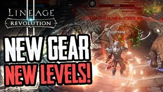 LINEAGE 2 Revolution is BACK with NEW GEAR & LEVELS!