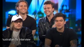 "5SOS ""They've Changed"" Australian Tv Interview May 29, 2018"