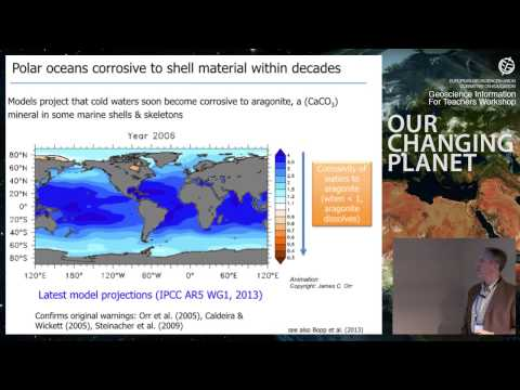 GIFT2014: Ocean acidification and its impacts on marine organisms and ecosystems